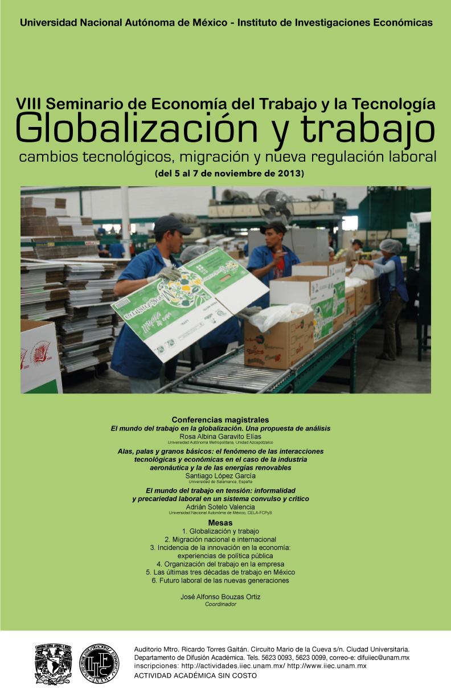 VIII Seminario de Economía del Trabajo y la Tecnología